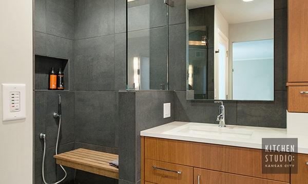 A Fresh Start - Bathroom Remodel - Kitchen Studio Kansas City